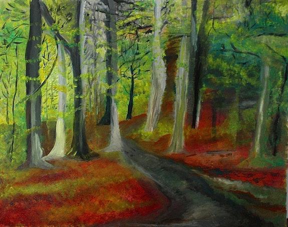 Le chemin forestier de Jacques. Yvon Couchouron Yvon Couchouron