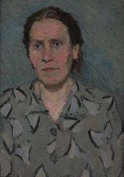 Porträt der Mutter.