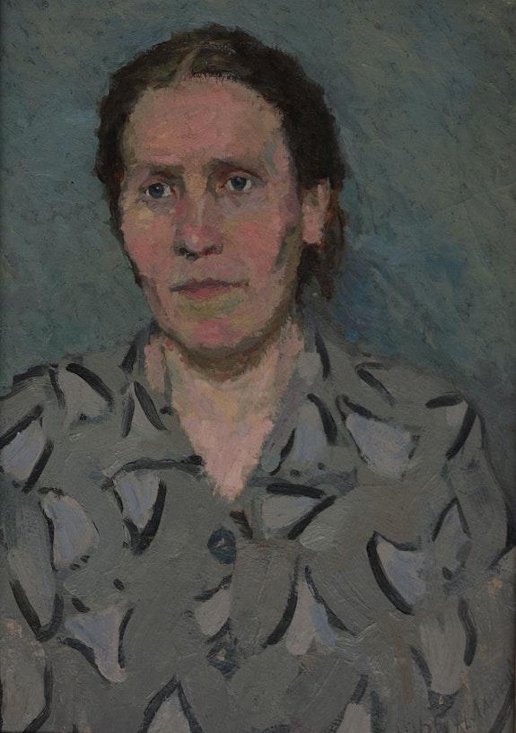 Porträt der Mutter. Nikolai Larski Axel Zwiener