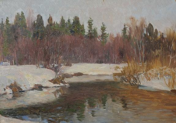 Winterlandschaft. A. Belov Axel Zwiener