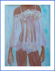 Peinture acrylique - Nuisette.