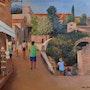 Visite des beaux de provence. Marc Lejeune