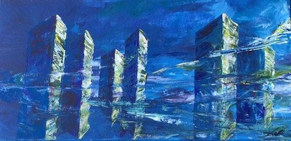 La ville bleue. Tami Tami