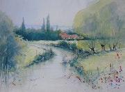 Paysage de Haute Saône.