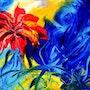 Hibiscus. Lysiane Wilkins