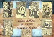 Miniatures zodiacales et médiévales. Serge Mogère
