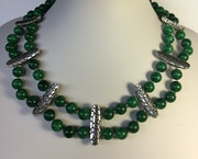 Winter Green Necklace.