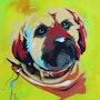 Pop-art le chien.