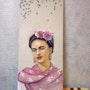 Portrait de Frida Kahlo. Sandrine. Cazuc