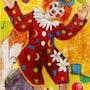 Clown en fete. Ollivier Mestre