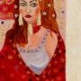 La femme rouge. Ollivier Mestre