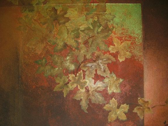 La beauté des feuilles d'automne. Jigée Jigée