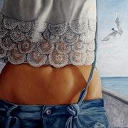 L'oiseau de mer. Alain Dentin
