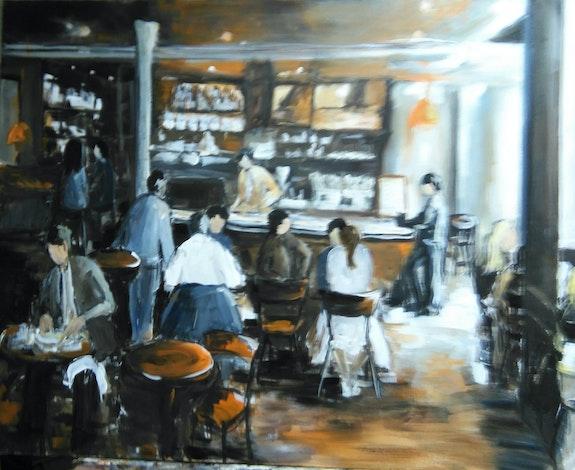 La brasserie.  Marie Ferrand