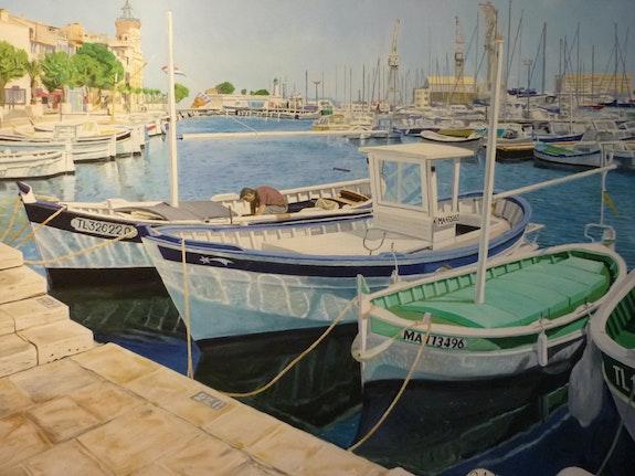 Vieux Port de la ciotat. Robert Christian Robert