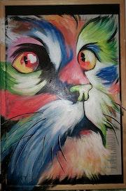 «Le chat en couleurs».