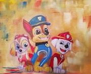 Pat Patrouille en couleurs.