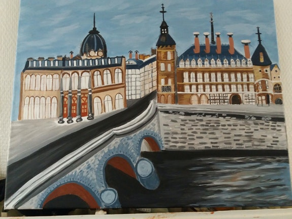 Paris. Balarh Ilham Ilham Balarh