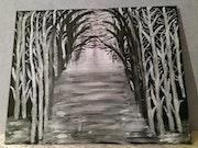 Nature en noir et blanc.
