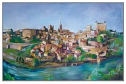 Toledo desde el Valle.