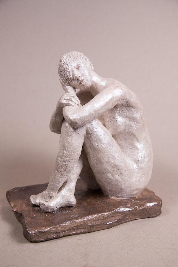 Aux bains (1).  Edith Martin