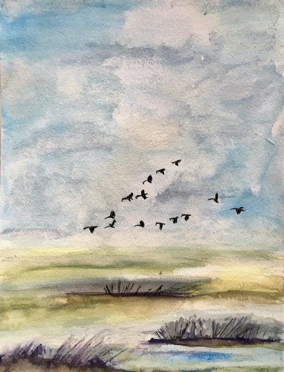 L'envol des oiseaux. Marie-Claude Lambert Marie-Claude Lambert