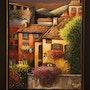 Villaggio in Italia. Mariana Flores