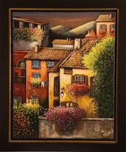 Villaggio in Italia.