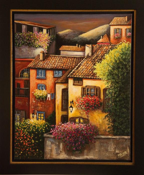 Villaggio in Italia. Mariana Mariana Flores