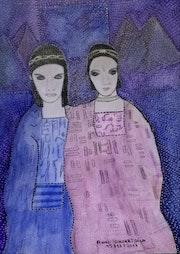 Les soeurs d'egypte. Anne. B