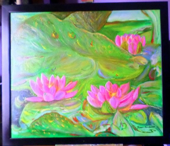 Les lotus. Angeline Seren Lienasson Angéline Seren Lienasson
