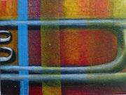 82017 Série instruments: saxhorn.