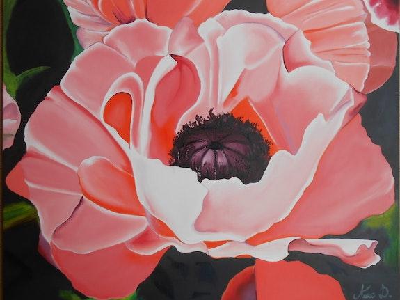 Coeur de fleur. Anne D. Anne Delpierre