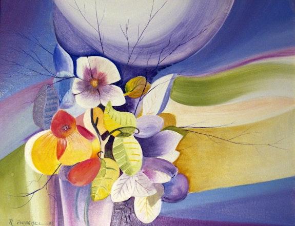 Le bouquet bleu. Pirschel R. Pitaro