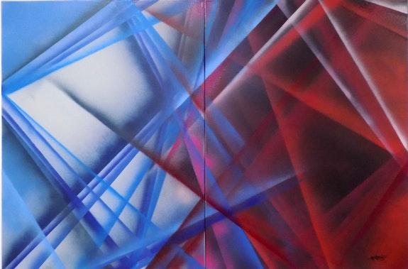 Jubilé de bleu et de rouge. Campanozzi Gabriel L'atelier Gc
