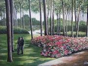 Promenade des amoureux au parc floral de paris.