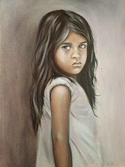 Amila… Mädchenportrait. Porträt. Renate Dohr