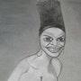 Miriam Makeba. Evelyne Patricia Lokrou