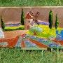 «Paysage de Provence». Karine Carreres Belkasmi