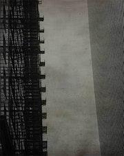 Océaniques Rythmes peinture abstraite minimaliste. Allaguillemette