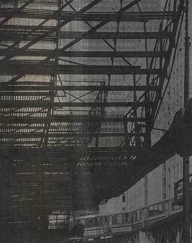 Chicago #02, photographie numérique tirage pigmentaire sur papier Matt FineArt.  Allaguillemette