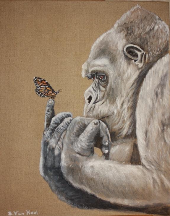 «Le Papillon». Brigitte Van Hool Brigitte Van Hool
