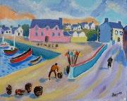 Un petit port Breton.