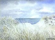Dunes givrées. Art Demo