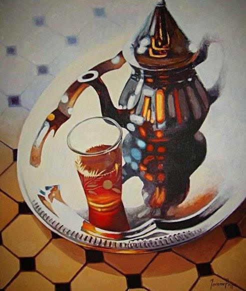 Le thé. Mariame Bajjou Rimoart