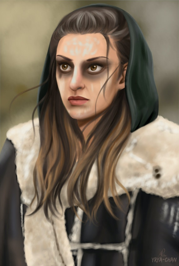 Echo's Portrait (The 100). Yrya-Chan Yrya-Chan