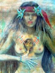 Danza Mestiza a la Virgen de Gudalupe Artes de América. Alberto Thirion Garcia