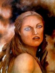 La Mujer 2007 Categoria: Pintura Técnica: Oleo Soporte: Madera 42 X 57 cm..