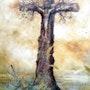 Cristo 2005 Categoria: Pintura Técnica: Oleo Soporte: Tela 50x70 cm.. Alberto Thirion Garcia