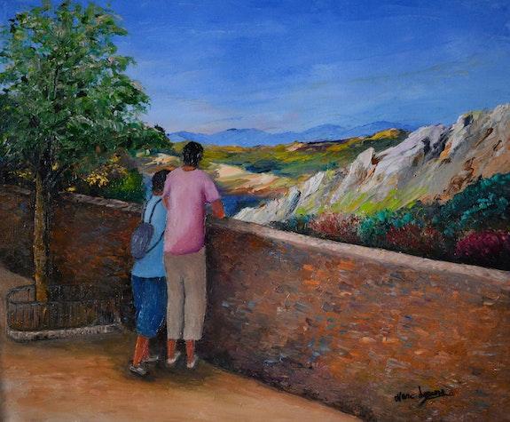 Touriste en visite des beaux de provence. Marc Lejeune Marc Lejeune